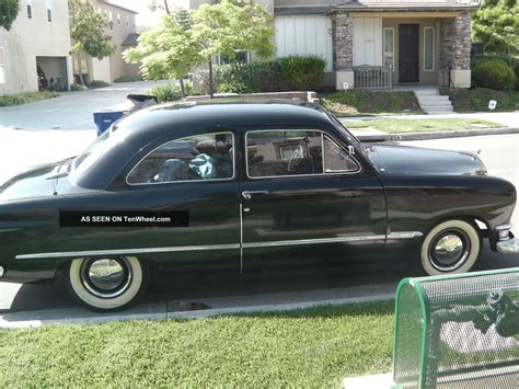 Custom Shoebox 1950 Ford 1950 Ford Custom Tudor Sedan Shoebox Rod Streetrod