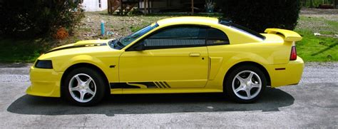 2000 steeda mustang zinc yellow 2000 ford mustang gt steeda coupe