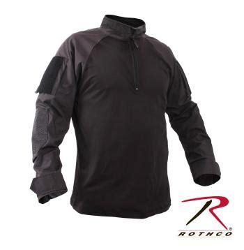 Tshirt Kaos Navy Seal rothco 1 4 zip retardant nyco combat shirt