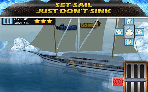 boat crash games titanic escape crash parking