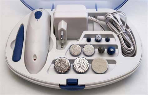 Manicure Pedicure Box electric manicure and pedicure set stock image image