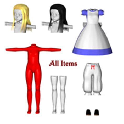 jointed doll obj joint doll 3d figure assets mayax