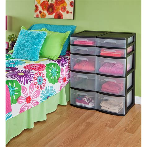 sterilite 4 drawer wide weave tower elegant 4 drawer plastic storage tower sterilite 5 drawer