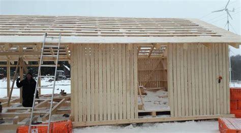 scheune bauen scheune dach