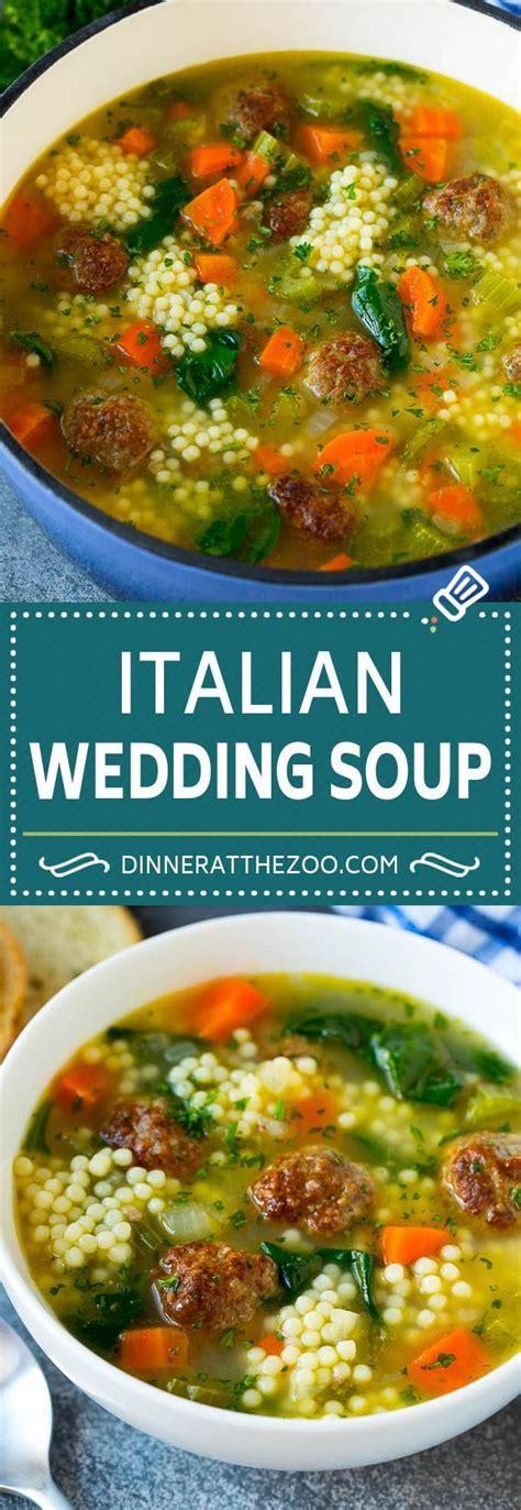 Italian Wedding Soup Recipe   Meatball Soup   Easy Soup #
