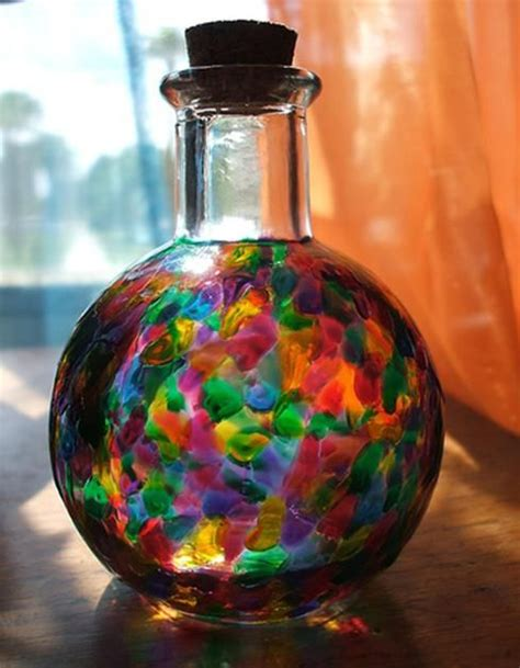Painting Glass Jars by 69 Best Glass Painting Ideas Images On Glass