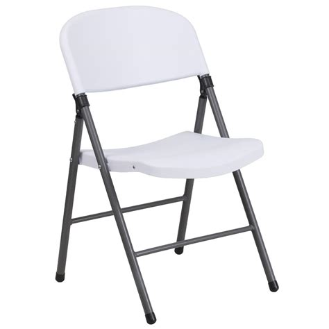 plastic folding chairs flash furniture hercules series 330 lb capacity white