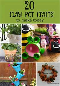 20 clay pot crafts to make today pat catan s blog