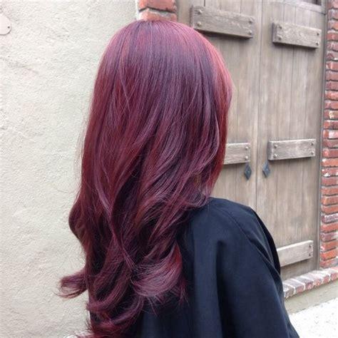 dark eggplant hair color eggplant highlights for dark hair google search violet