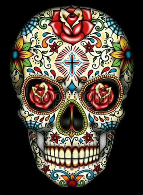 mexican skull tattoos 26 best dia de los muertos images on sugar