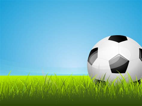 Soccer Area Backgrounds Black Blue Green Sports White Templates Free Ppt Backgrounds And Soccer Powerpoint Template