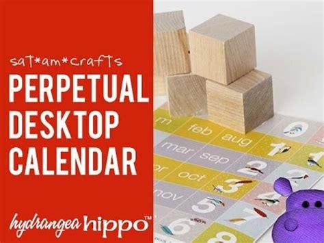 how to make a perpetual calendar how to make a perpetual calendar with blocks satamcrafts