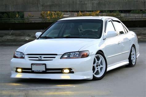 2001 honda accord lights 2001 2002 honda accord 4dr sedan oem style jdm yellow fog