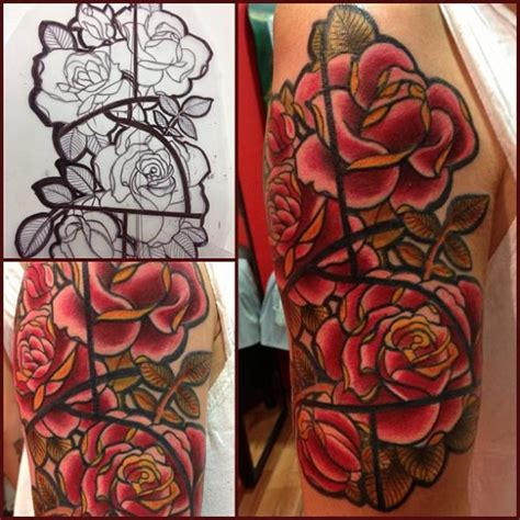 tattoo new school flower image gallery new school flower tattoos