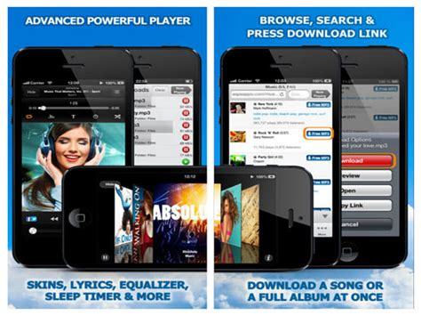 download mp3 free iphone best free iphone apps to download music mp3 downloader