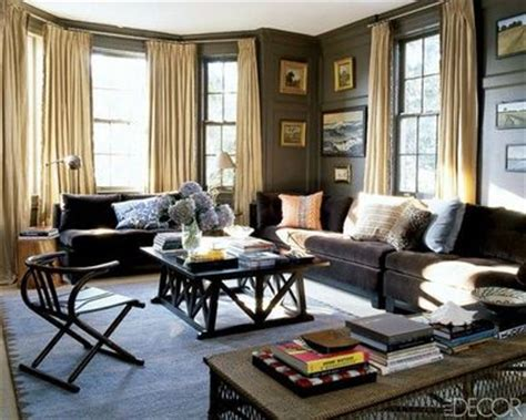 large brown grey and blue decor for the home