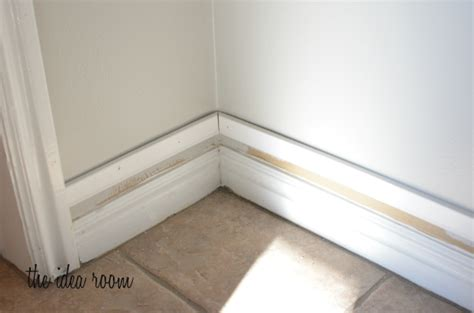 baseboard height how to diy taller baseboards with existing construction