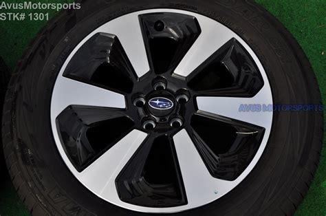 2001 subaru outback bolt pattern 2017 subaru forester oem 17 quot factory wheels p225 60r17