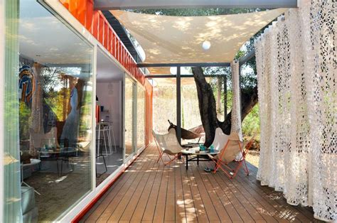 shipping container guest house nomad living a container guest house studio arte small house bliss