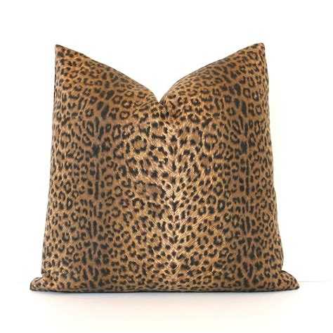 Cheetah Decorative Pillows by Cheetah Print Decorative Designer Pillow Cover 18 Accent