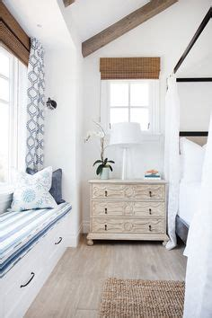 california beach house with crisp white coastal interiors 1000 ideas about window seat curtains on pinterest