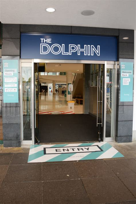 dolphin centre poole welcomes shoppers