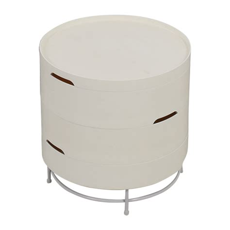 ikea ps 2014 storage table 88 off pottery barn pottery barn side table tables