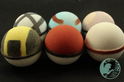 Of Bath Finder Geeky Find Of The Week Pok 233 Bath Bombs Gadgette