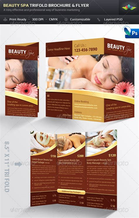 free spa brochure templates 14 cleaning services flyer templates psd images cleaning