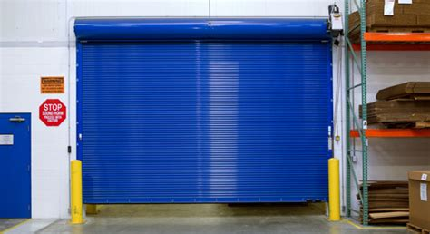 Roll Up Door Vs Overhead Door Commercial Rolling And Sectional Doors