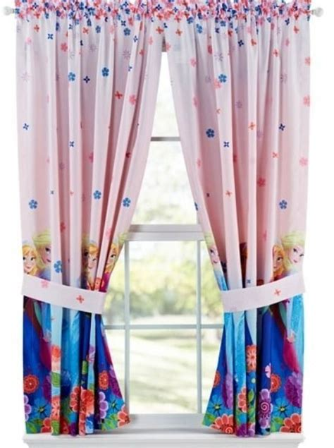 anna drapery disney frozen elsa anna curtains new with tags drapes