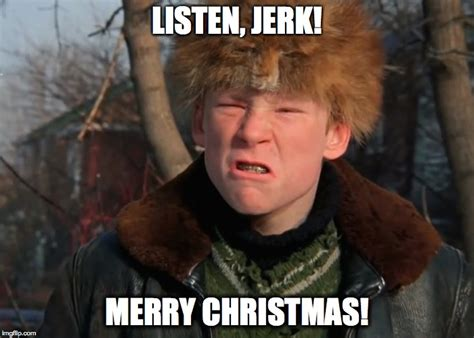 Merry Christmas Meme Generator - image tagged in christmas story imgflip