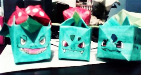 Origami Bulbasaur - bulbasaur origami by skitty1988 on deviantart