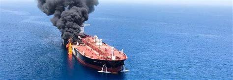 oggetti volanti attacco a due petroliere l armatore 171 oggetti volanti