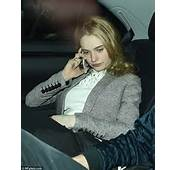 Lily James Looks Ready For Bed After Going Out With Beau