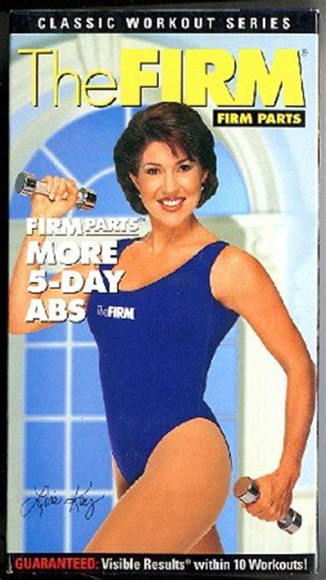 firm parts more 5 day abs classic workout series exercise vhs