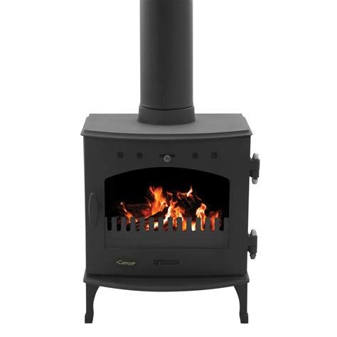 What Is A Solid Fuel Stove by Carron 4 7kw Solid Fuel Stove Matt Black