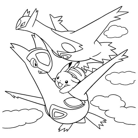 pokemon coloring pages latias latios pokemon coloring pages images pokemon images