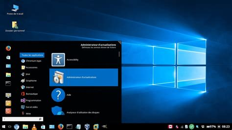 screen themes for windows 10 windows 10 accurate linux theme released for almost all