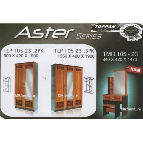 Lemari Pakaian Merk Toppan lemari baju merk toppan seri aster harga sale