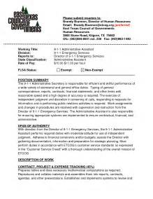 sle administrative assistant resume sle resume and administrative assistant