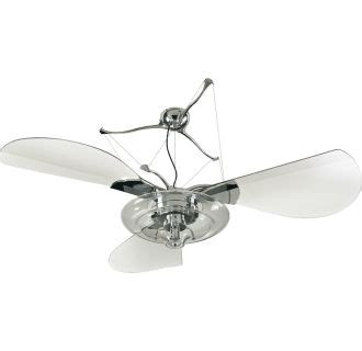 Jellyfish Ceiling Fan by Quorum International 14583 914 Polished Chrome Indoor
