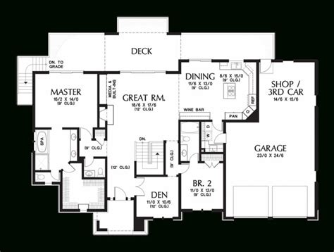 briarwood homes floor plans lovely mascord house plan 1339