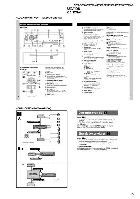 free sony xplod wiring diagram sony xplod car stereo