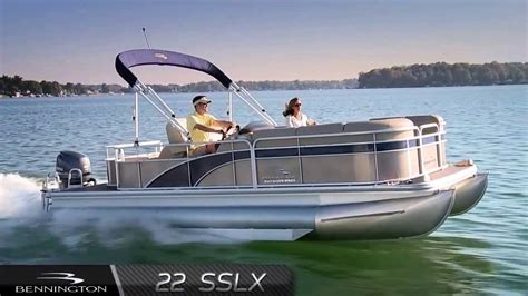 bennington pontoon boat prices 2014 bennington 22 sslx pontoon boat youtube