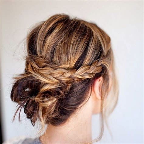 the perfect braid 50 perfect messy bun hairstyles easy ways to look fabulous