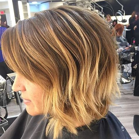 messy bob hair style back side 22 tousled bob hairstyles popular haircuts