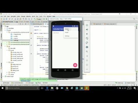 tutorial programacion android studio pdf 13 action bar programaci 243 n android studio tutorial e