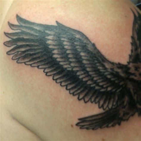black and grey hawk tattoo flying hawk tattoo www imgkid com the image kid has it