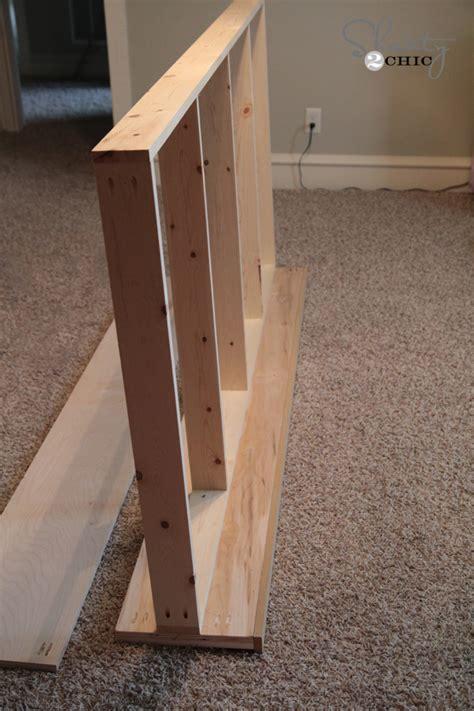bed frame side rails diy platform dresser bed shanty 2 chic